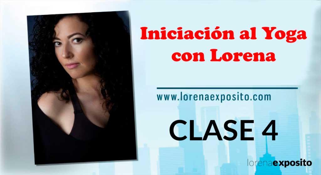 Clase-4 Iniciacion al yoga con lorena