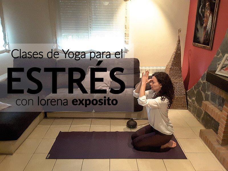 Mejorar el estres con yoga